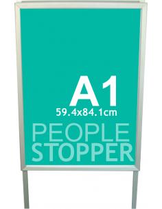 Panou pietonal A1 / People... 2