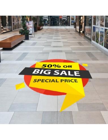 Autocolant podea ( Floor Graphics )