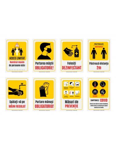 5 Afișe măsuri de prevenție intrare...
