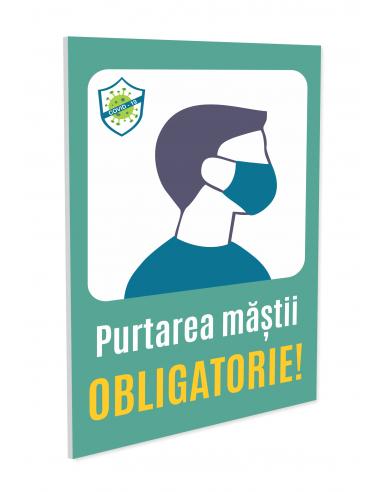 Indicator purtare mască obligatorie