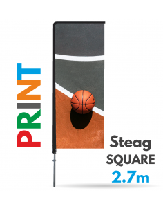 Print steag Square 2.7m