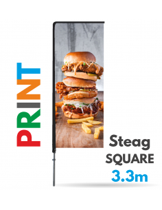 Print steag Square 3.3m