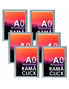 Ramă Click A0 aluminiu -...