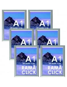 Ramă Click A1 aluminiu  -...