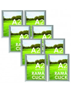 Ramă Click A2 aluminiu -...