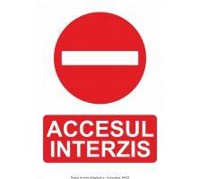 Indicatoare de interdicție