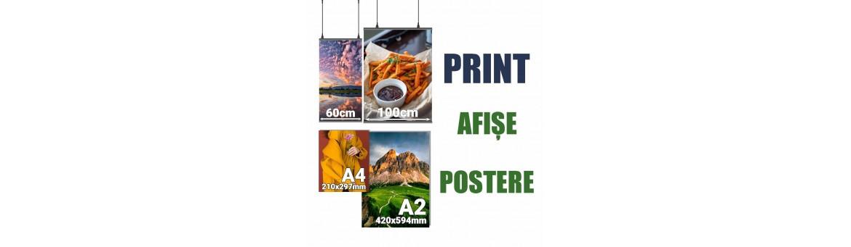 Print afișe/ postere