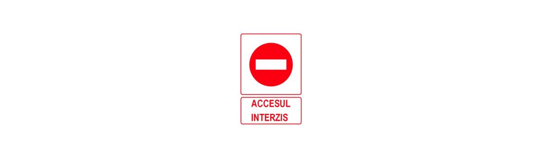 Indicatoare de interdictie  - Click-Stop.ro